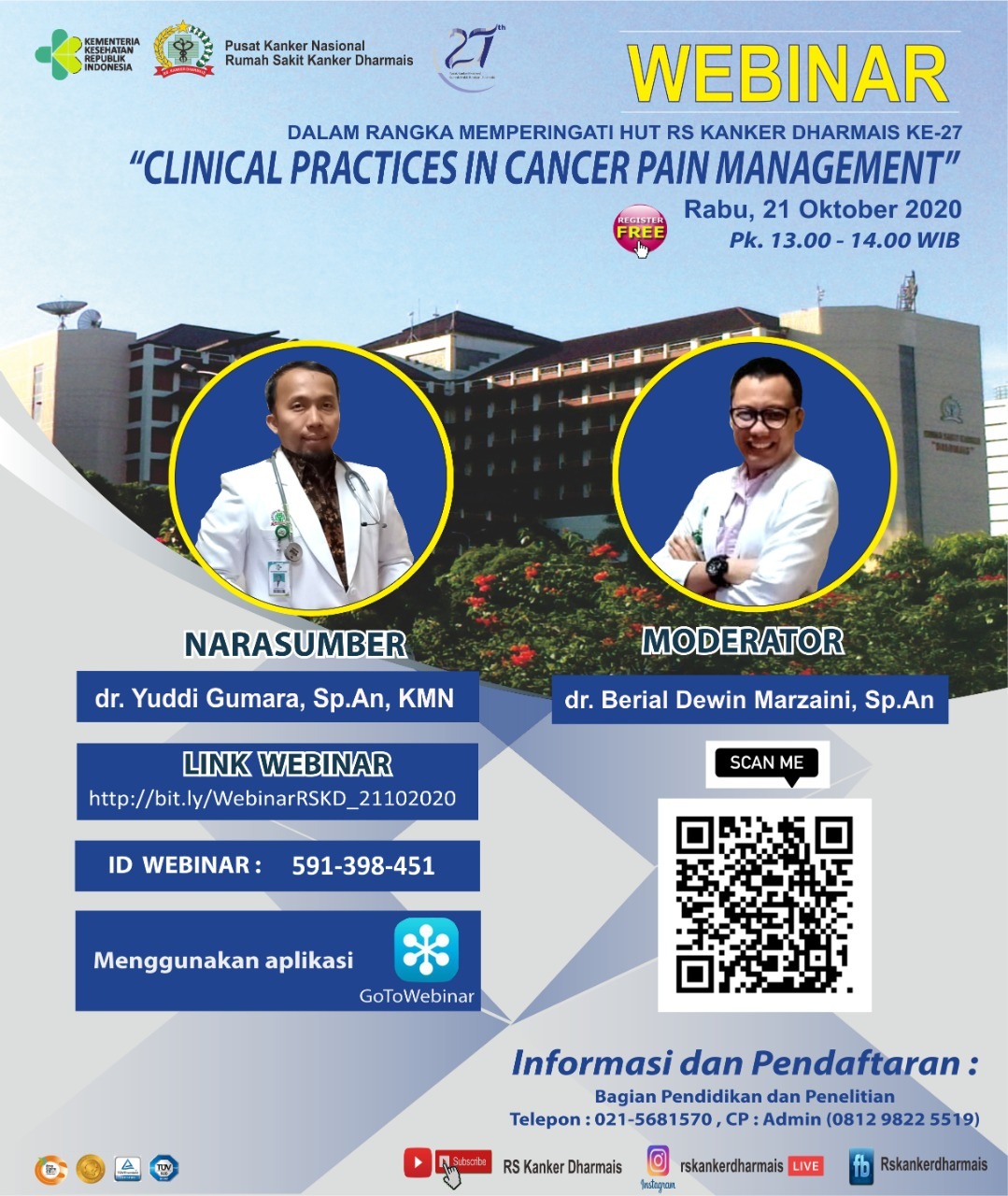 Webinar (Clinical Practices In Cancer Pain Management)